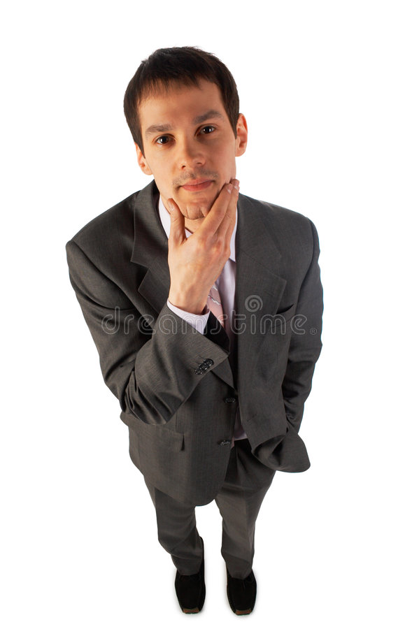 Download Young man choosing stock photo. Image of contemplation - 5276936