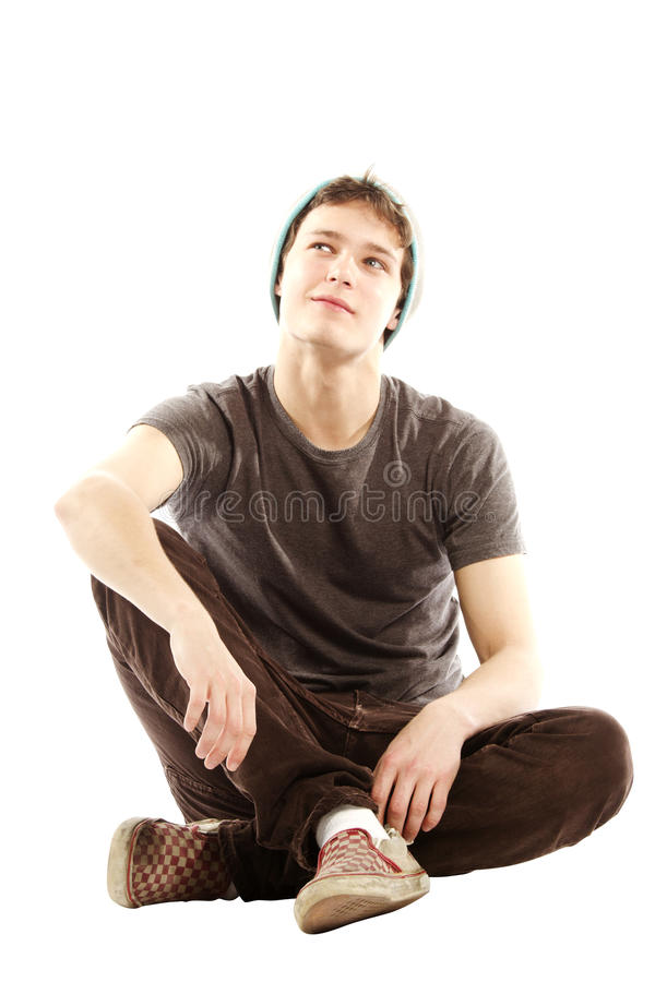 Free Young Man Dressed In Hip Style Thinking Stock Photo - 24629400