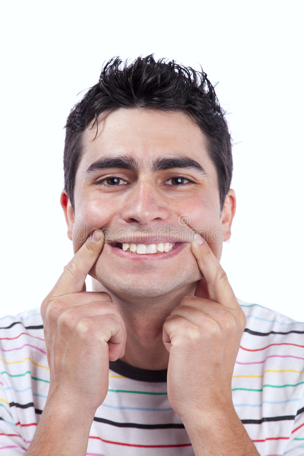 Download Young Man With A Funny Face Stock Photo - Image: 19501494