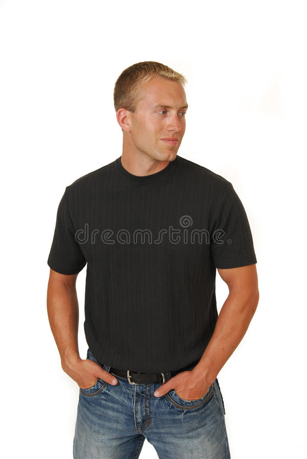Download Young Man With Hands In Pockets Royalty Free Stock Image - Image: 10672926