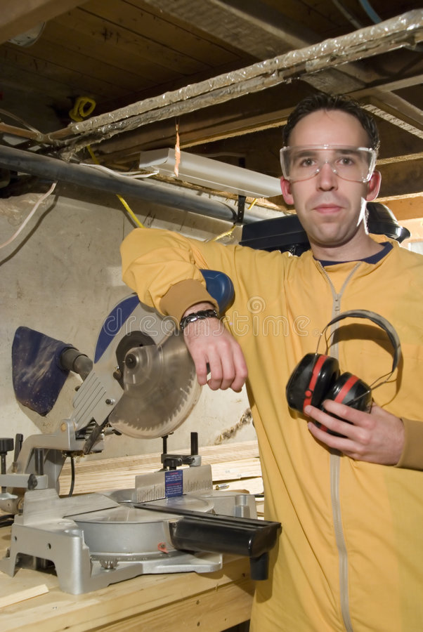 Download Young Man Holding His Ear Protection Stock Image - Image: 4162259