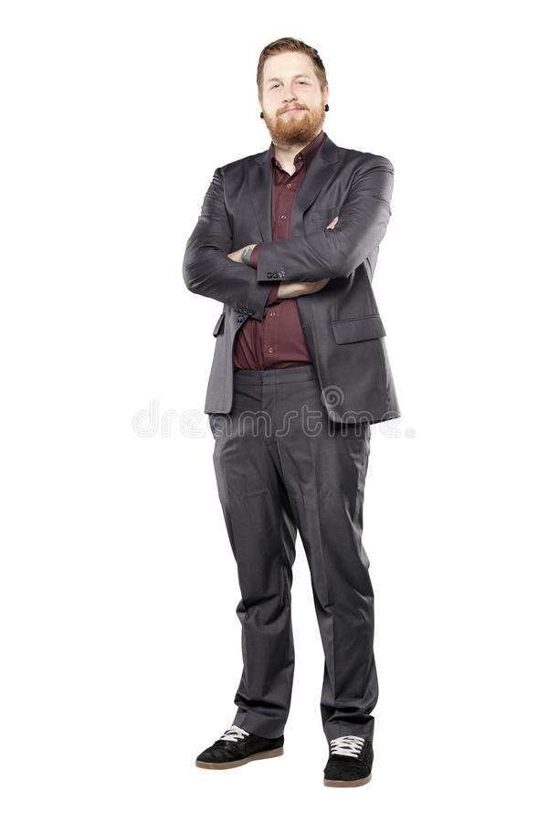Free Young Man In Suit With Tattooes Royalty Free Stock Photography - 31718247