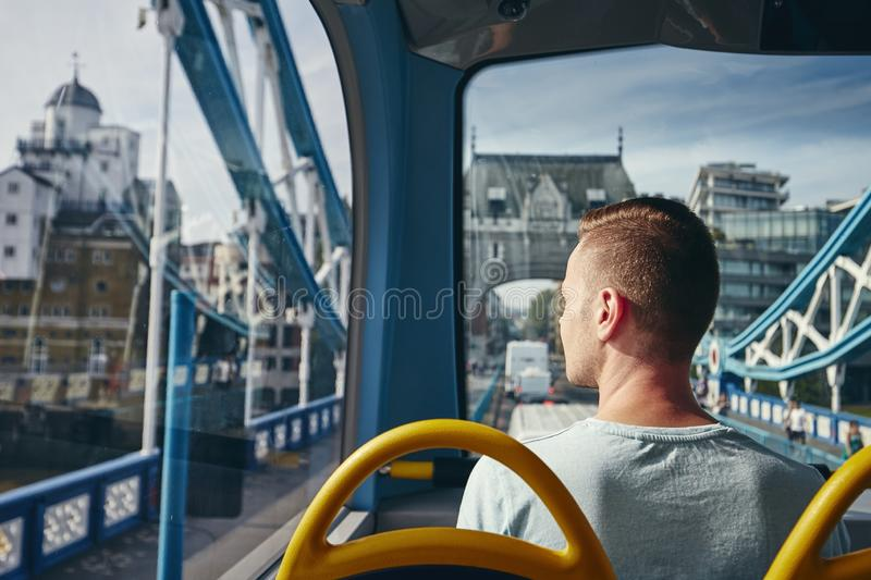 City life in London stock image