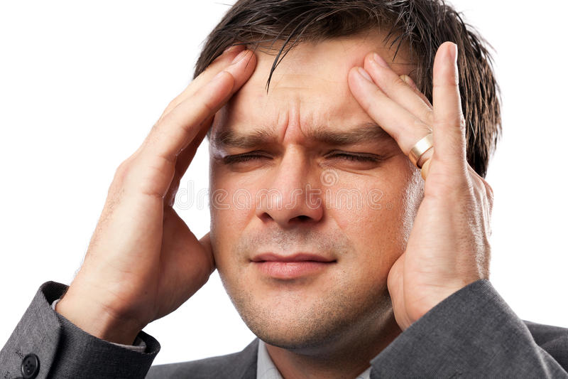 Download Young Man With Migraine Royalty Free Stock Photography - Image: 22229527