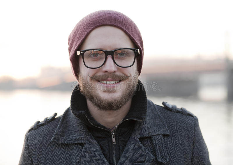 Download Young Man With Moustache And Beard Stock Photo - Image: 35706624