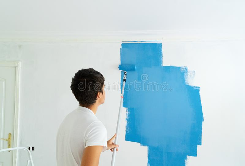 Do it yourself house renovations royalty free stock images