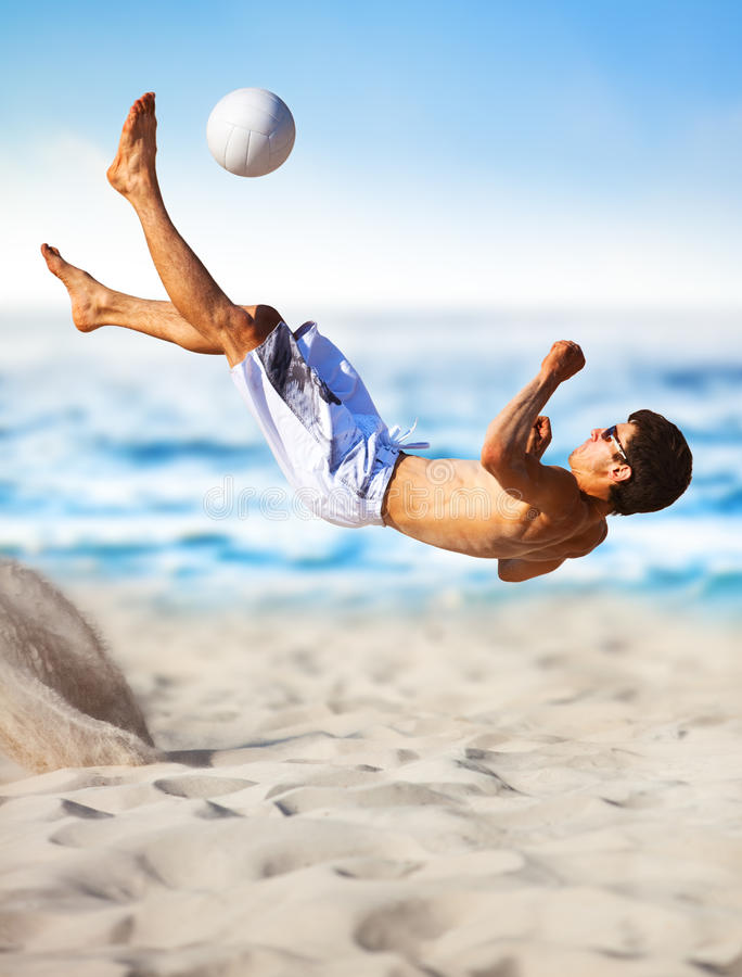 Download Young Man Playing Soccer Royalty Free Stock Image - Image: 15320926