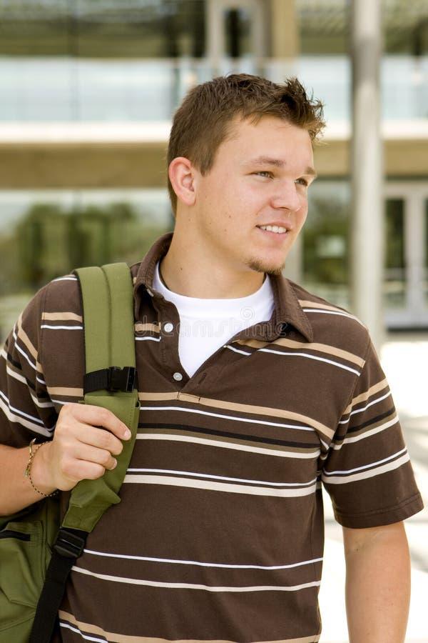 Young Man At School Royalty Free Stock Photos
