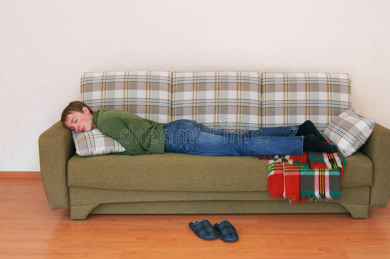 Download Young man sleeps stock photo. Image of healthy, lifestyle - 34847132