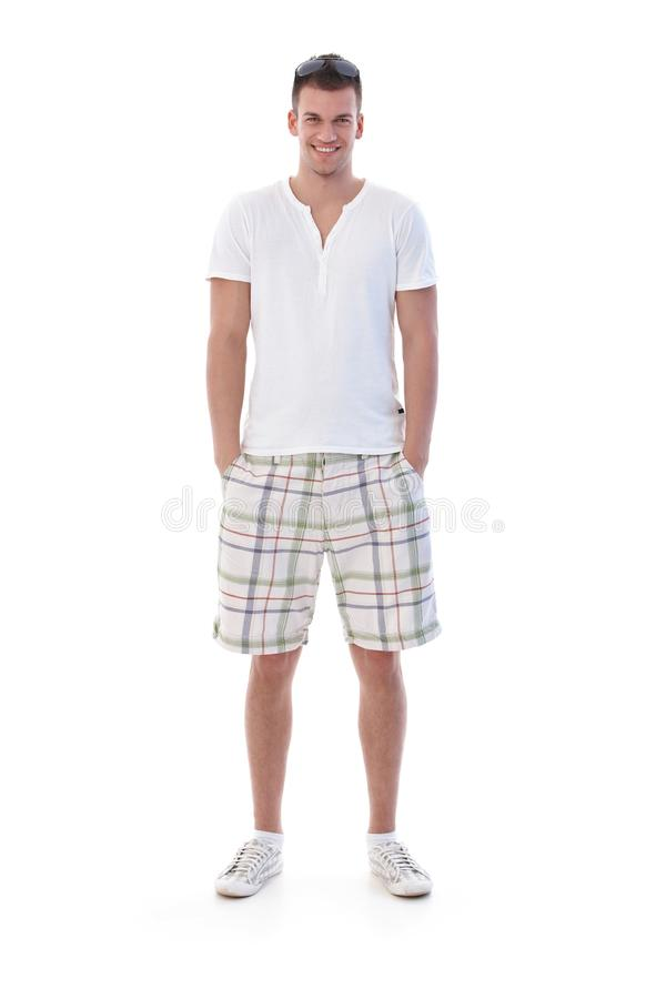 Free Young Man Smiling At Summertime Stock Image - 20531421