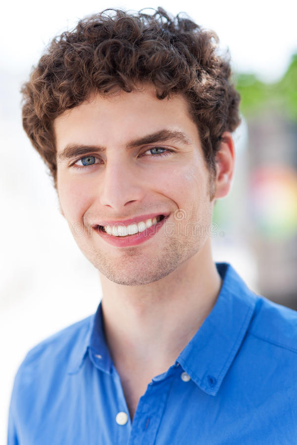 Download Young man smiling stock image. Image of person, adult - 32211701