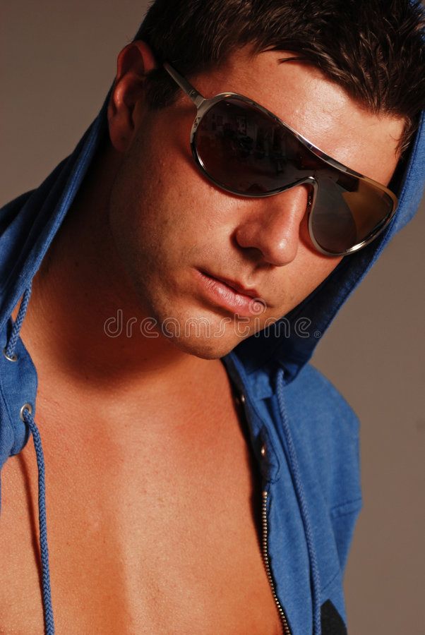 Young Man In Sunglasses Royalty Free Stock Photos