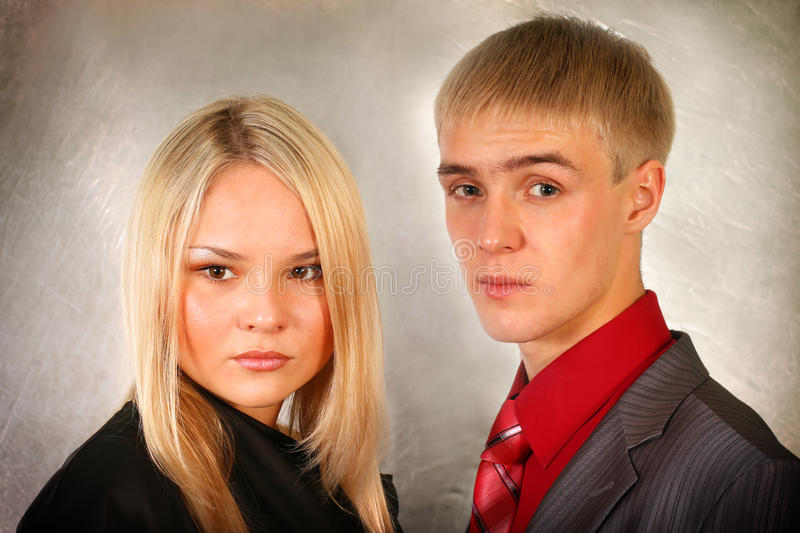 Download Young man and woman stock photo. Image of girl, female - 13093276