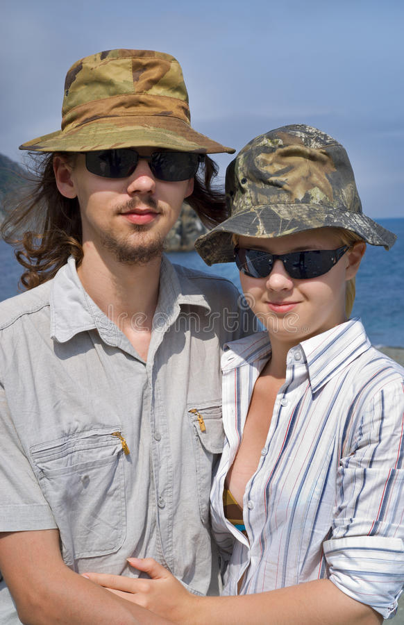 Download Young man and woman 5 stock photo. Image of long, nice - 10788972