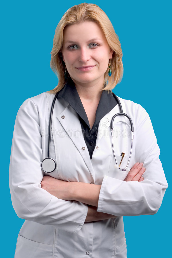 Download Young medical professional stock image. Image of female - 1539817