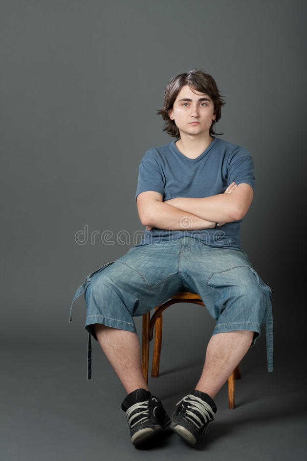Download Young Men stock photo. Image of vertical, reserved, behavior - 10206560