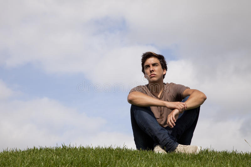 Young Men Future Royalty Free Stock Image