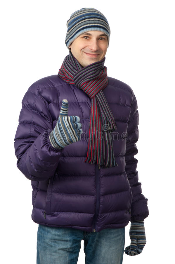 Free Young Men In Warmly Clothing Stock Photo - 22707070