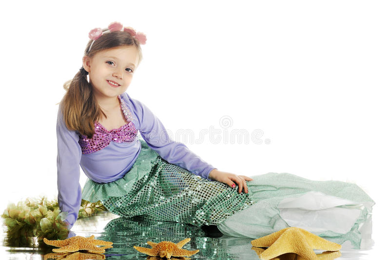 Young Mermaid Beauty Royalty Free Stock Images