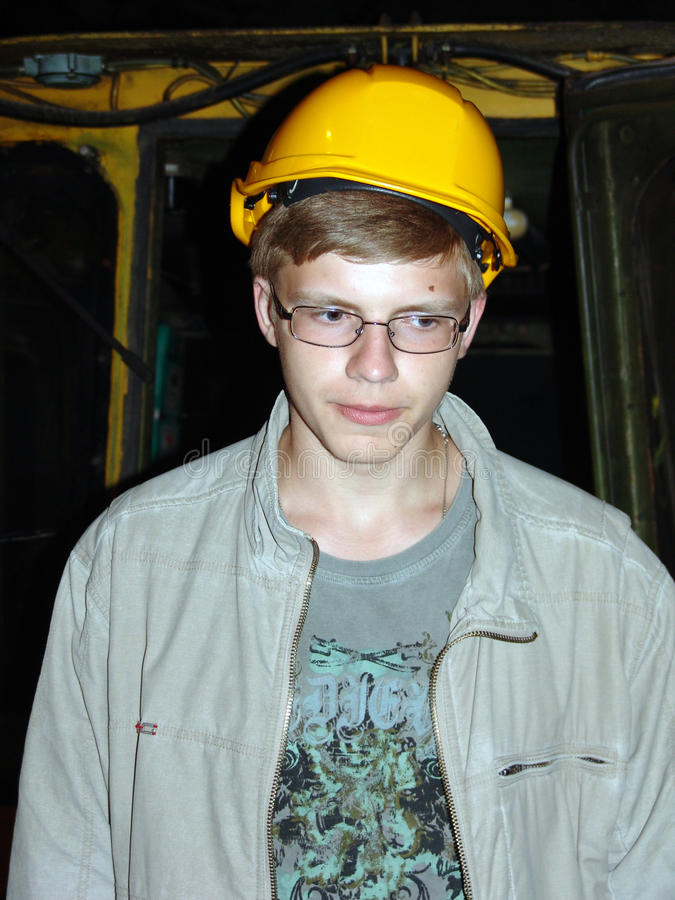 Download The Young Miner Stock Photos - Image: 15873903