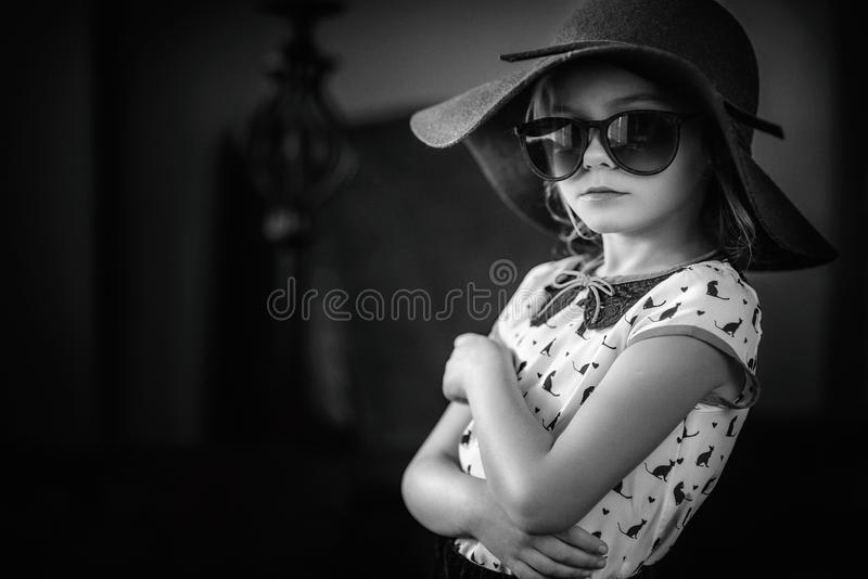 Young Model. A fashionable young girl posing stock images