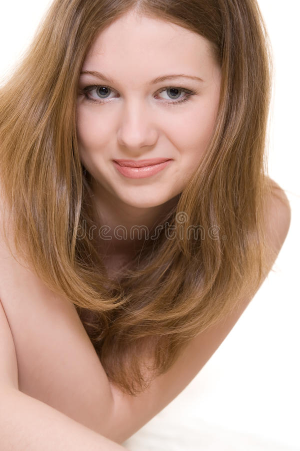 Download Young model portrait stock image. Image of long, fashion - 10763037