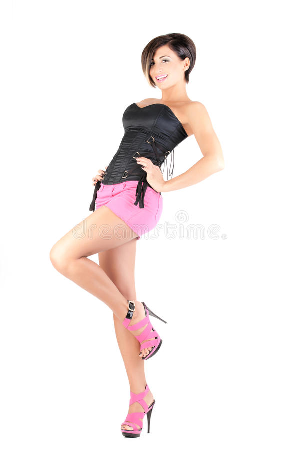 Young Model In Outfit Royalty Free Stock Photo