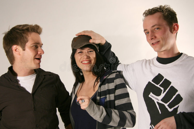 Download Young Models In Studio Setting Stock Photo - Image: 5802592