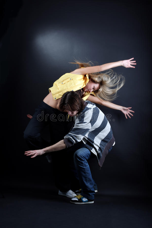 Download Young modern dancers stock image. Image of motion, dancing - 13747777