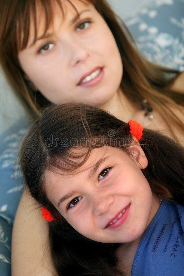 Download Young mother stock photo. Image of happiness, face, living - 1386238