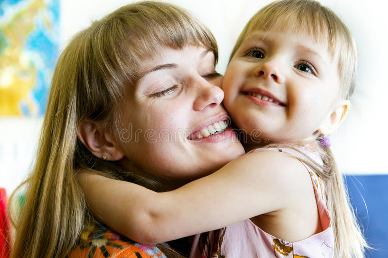 Download Young mother stock image. Image of portrait, horizontal - 27810837