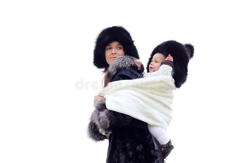 Download Young Mother With Baby In Sling Stock Image - Image: 29649037