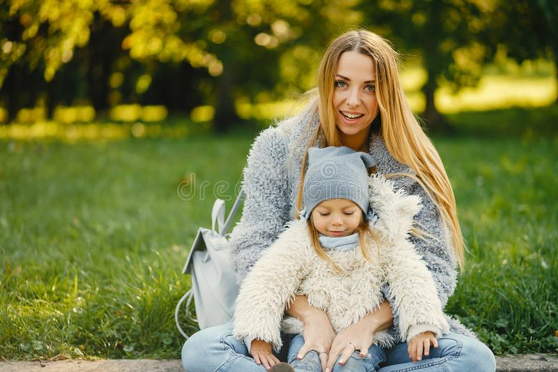 Young mother with toddler royalty free stock photos