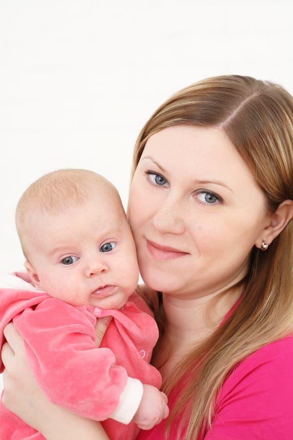 Young mum stock image