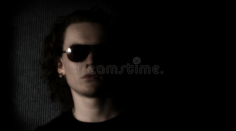 Young Musician royalty free stock photo