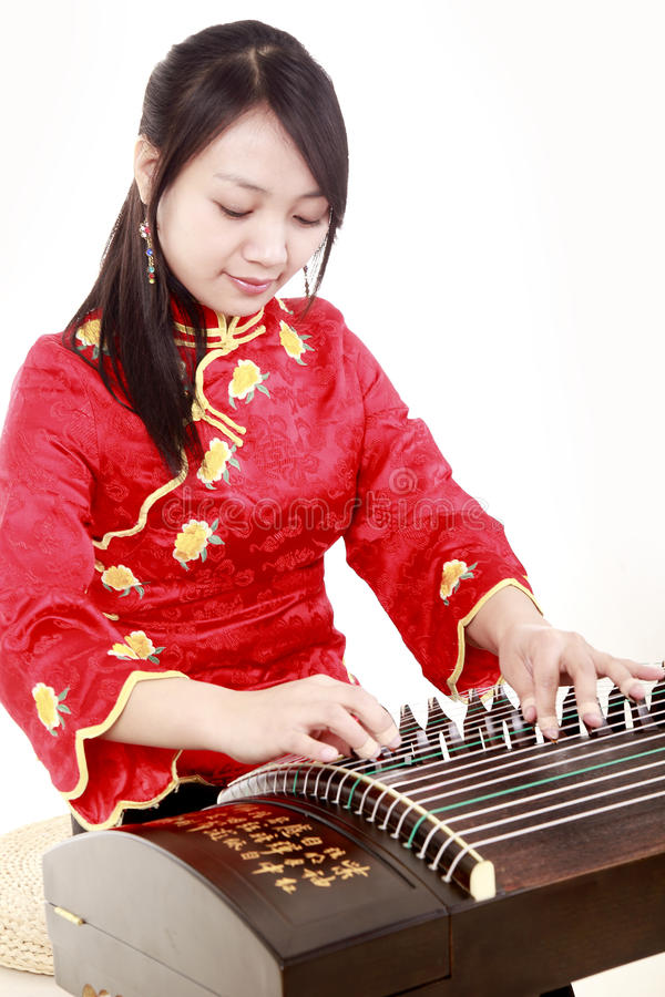 Young musician royalty free stock images