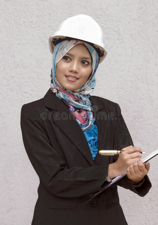 Download Young muslim architect stock photo. Image of lifestyle - 22587448