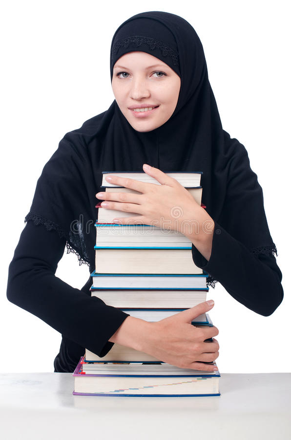 Download Young Muslim Female Student Stock Image - Image: 34863355