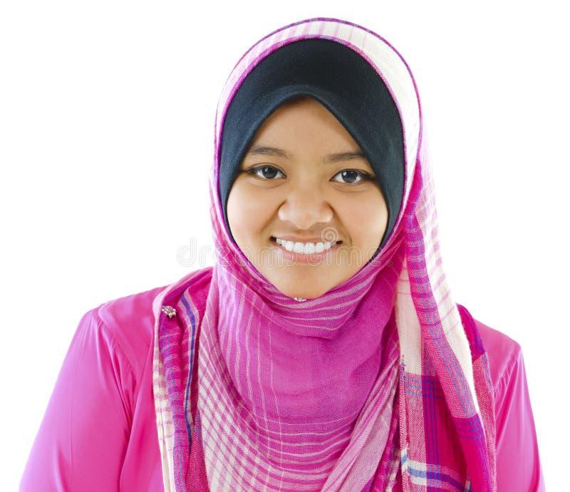 Young Muslim girl stock photo