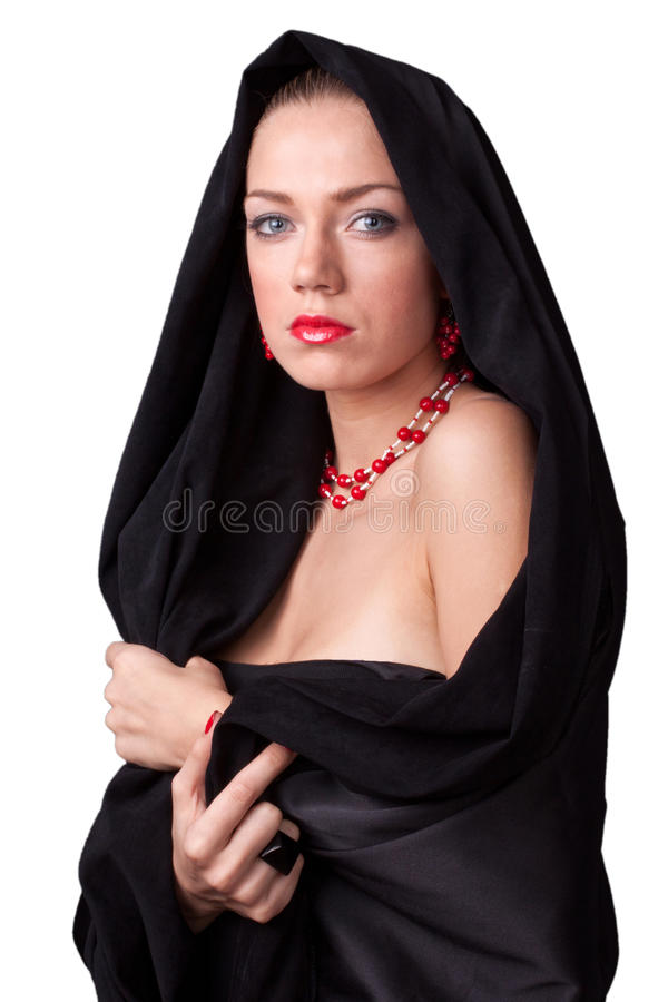 Download Young nun stock image. Image of white, ring, background - 21235977