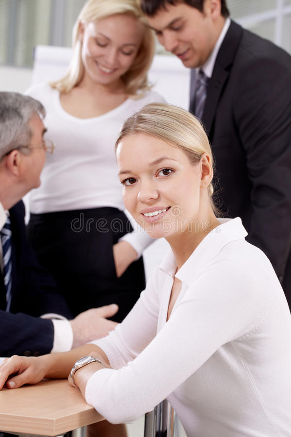 Download Young office worker stock photo. Image of person, professional - 21562148