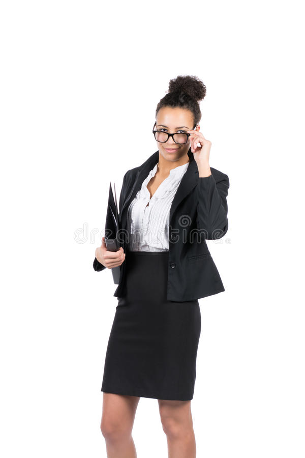 Download Young Office Worker Holds A File Royalty Free Stock Photos - Image: 36711778