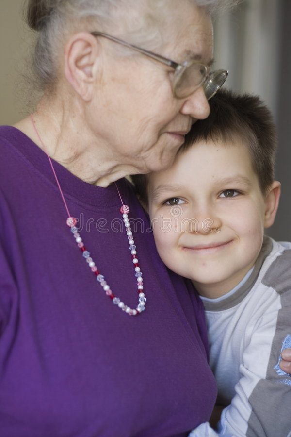 Download Young and old stock photo. Image of portrait, happy, children - 523370