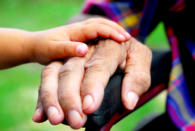 Download Young and old stock photo. Image of senior, human, young - 5930340