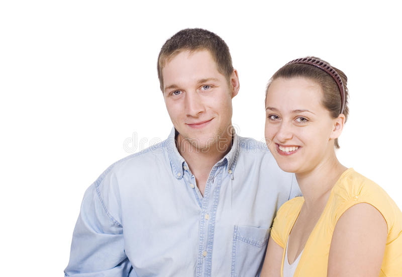 Young pair stock images
