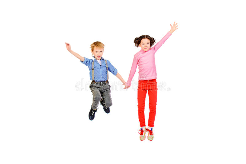 Young pair stock photography