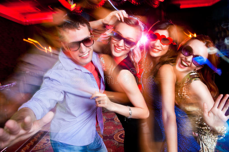 Young party royalty free stock photo