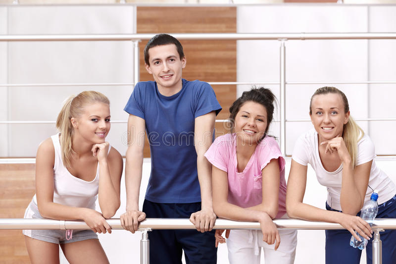 Young people royalty free stock photo