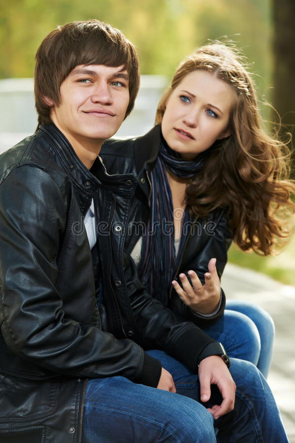 Download Young People In Conflict Relationship Stock Photo - Image: 21701394