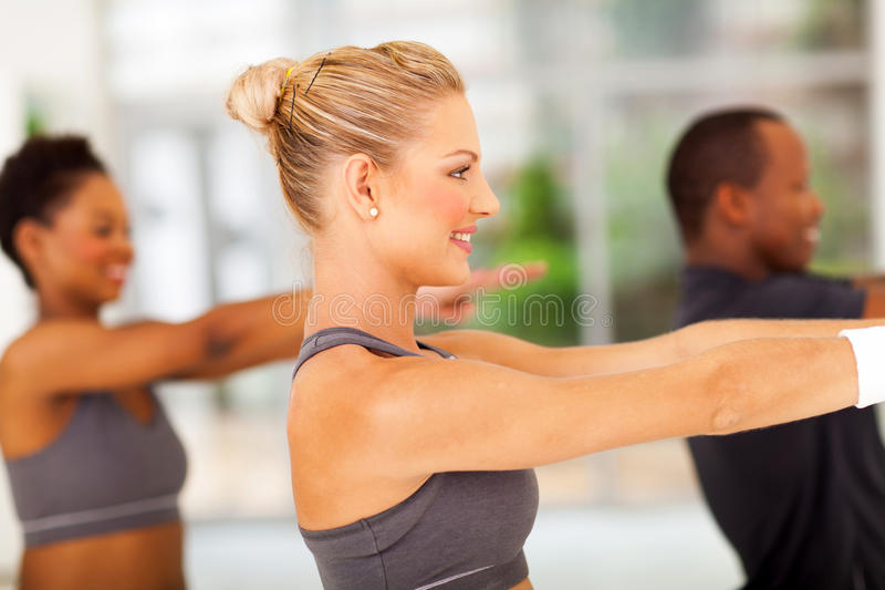 Young people fitness stock photo